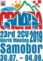 Organising Committee of 23 rd international  meeting of 2cv friends in Croatia 2019