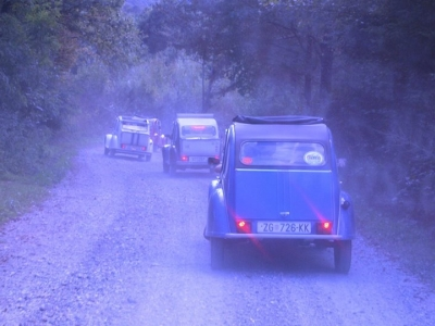 2CV Three Rivers Raid, 16.-18.09. 2016.