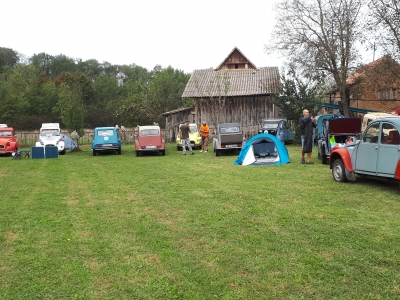 2cv Three Rivers Raid 2018.